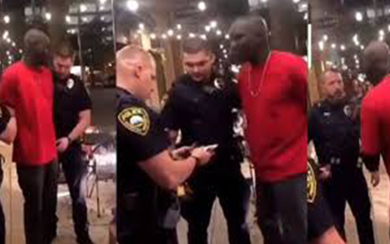 ABD'de polisinin siyahi diye kelepçe vurduğu kişi FBI ajanı çıktı!