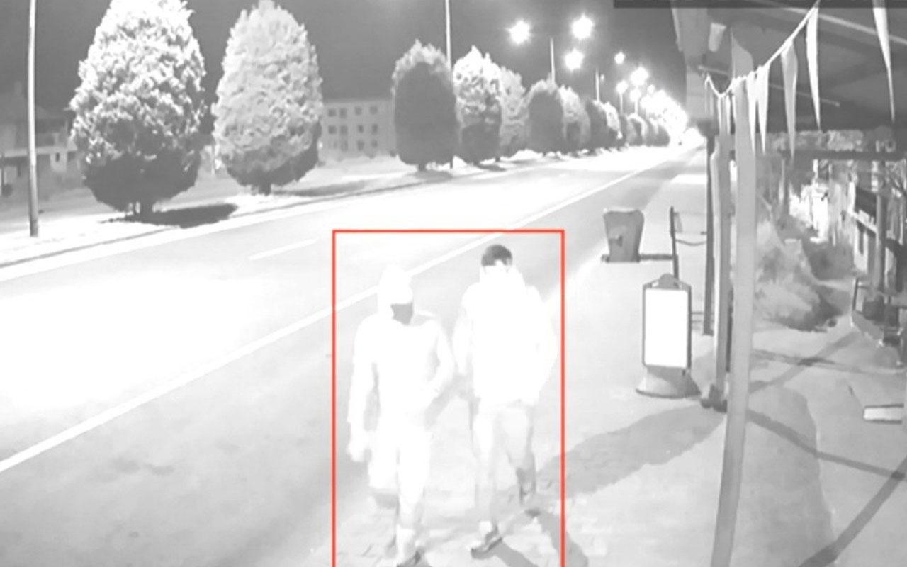Motosiklet hırsızı önce kameraya, sonra polise yakalandı