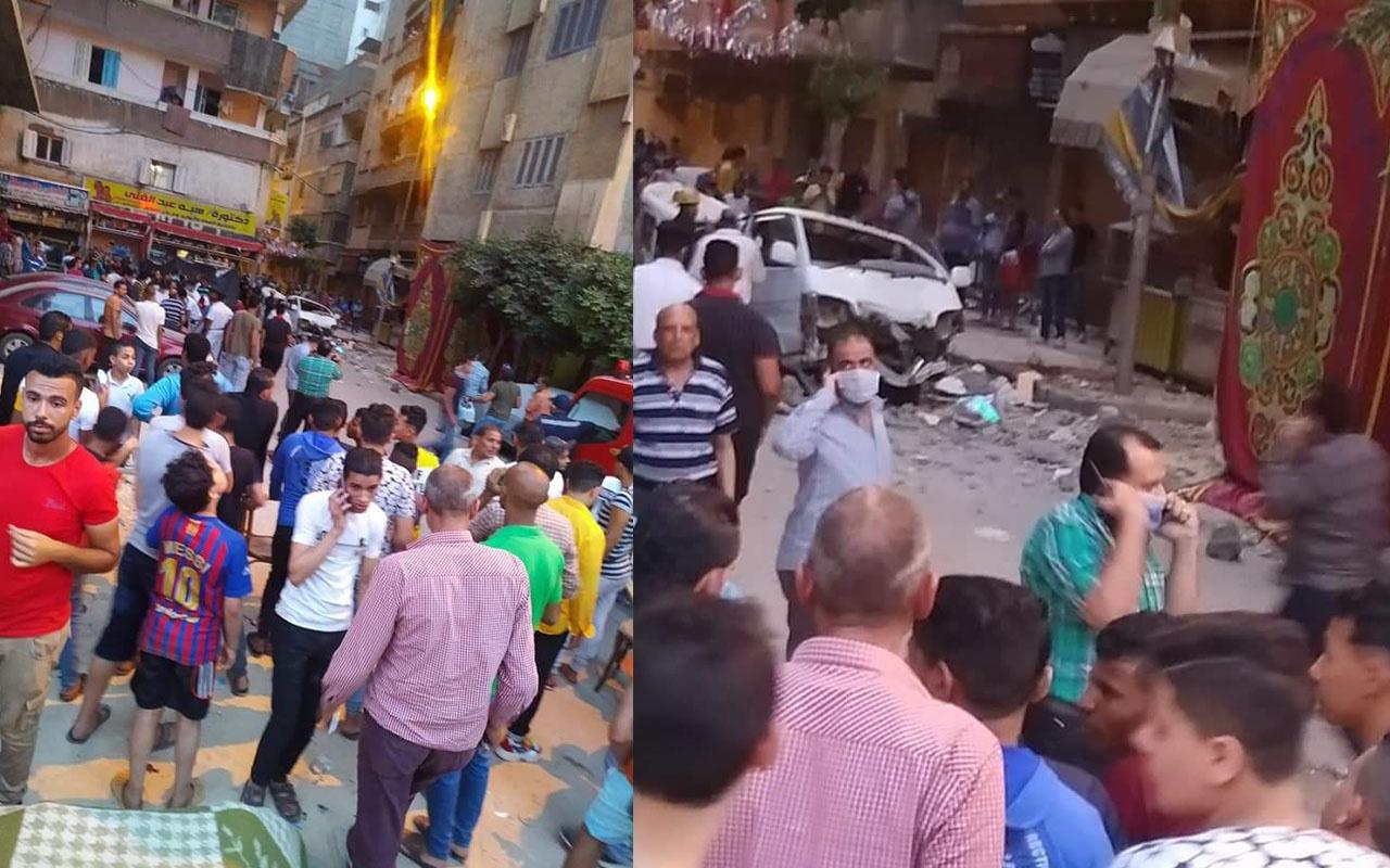 Mısır'da balkon çöktü: 3 ölü