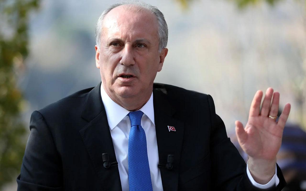 Muharrem İnce'den partisi CHP'ye tepki