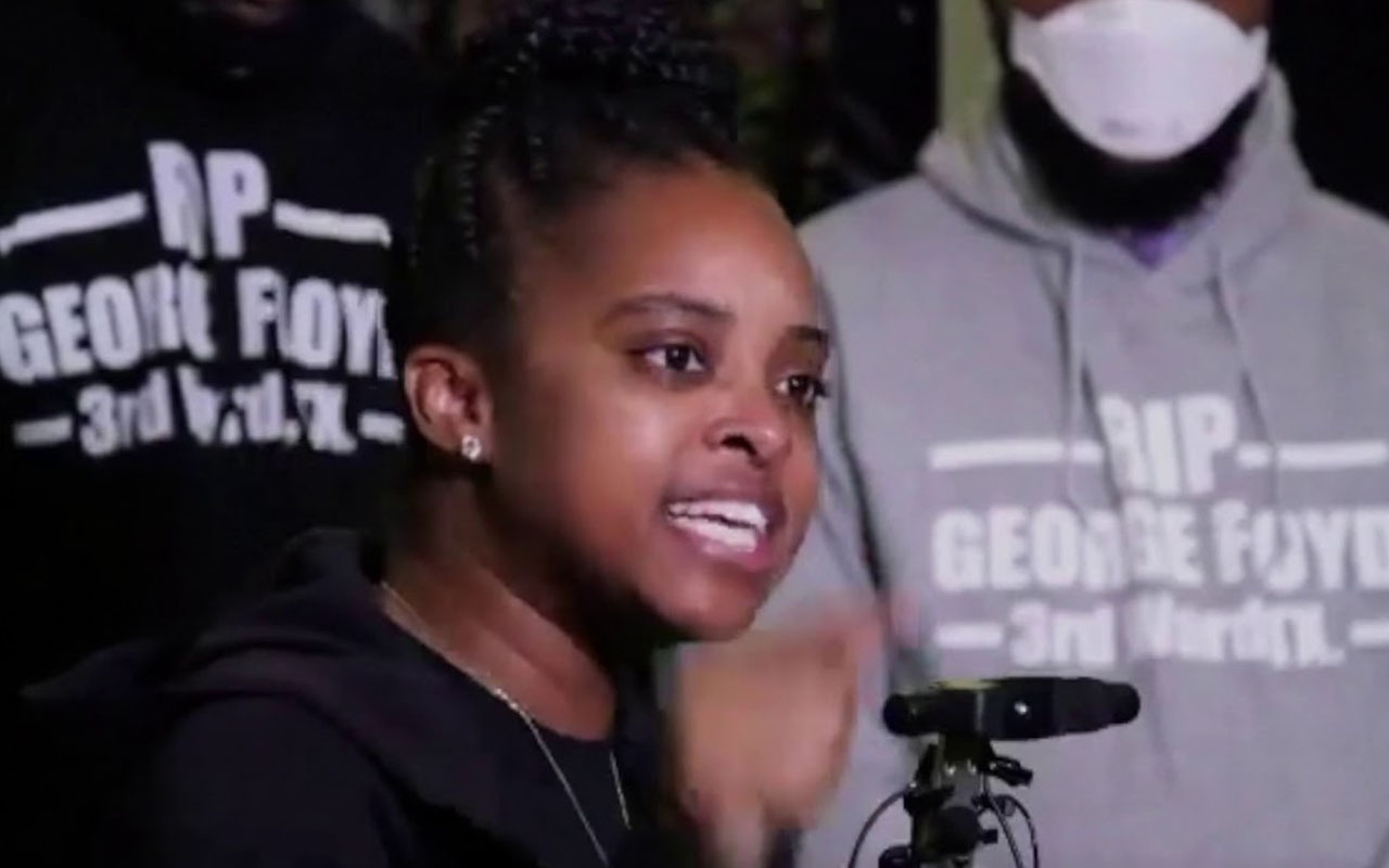 ABD'li aktivist Tamika Mallory: 'Amerika siyahi insanları yağmaladı'