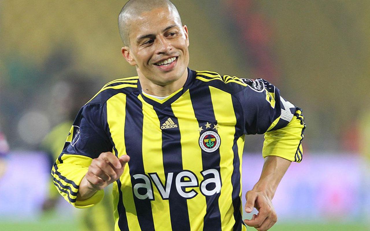Alex de Souza Fenerbahçe'de yaşadığı 5 unutulmaz anısını anlattı