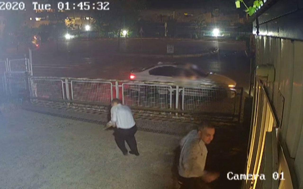 Güvenlik görevlisi kurşun yağmuruna tutularak öldürüldü! O anlar kameralarda