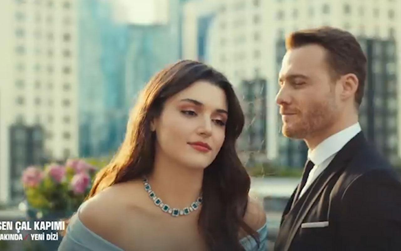 Hande Erçel ve Kerem Bürsin'in yeni dizisi Sen Çal Kapımı'nilk fragmanı yayınlandı
