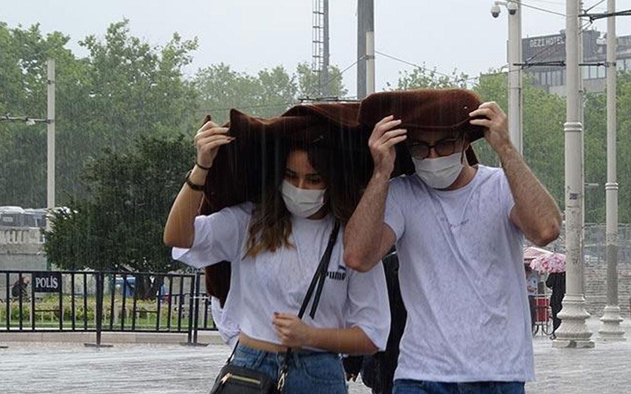 Meteoroloji'den büyük şehirlere sağanak yağış uyarısı! İstanbul, Ankara, İzmir...