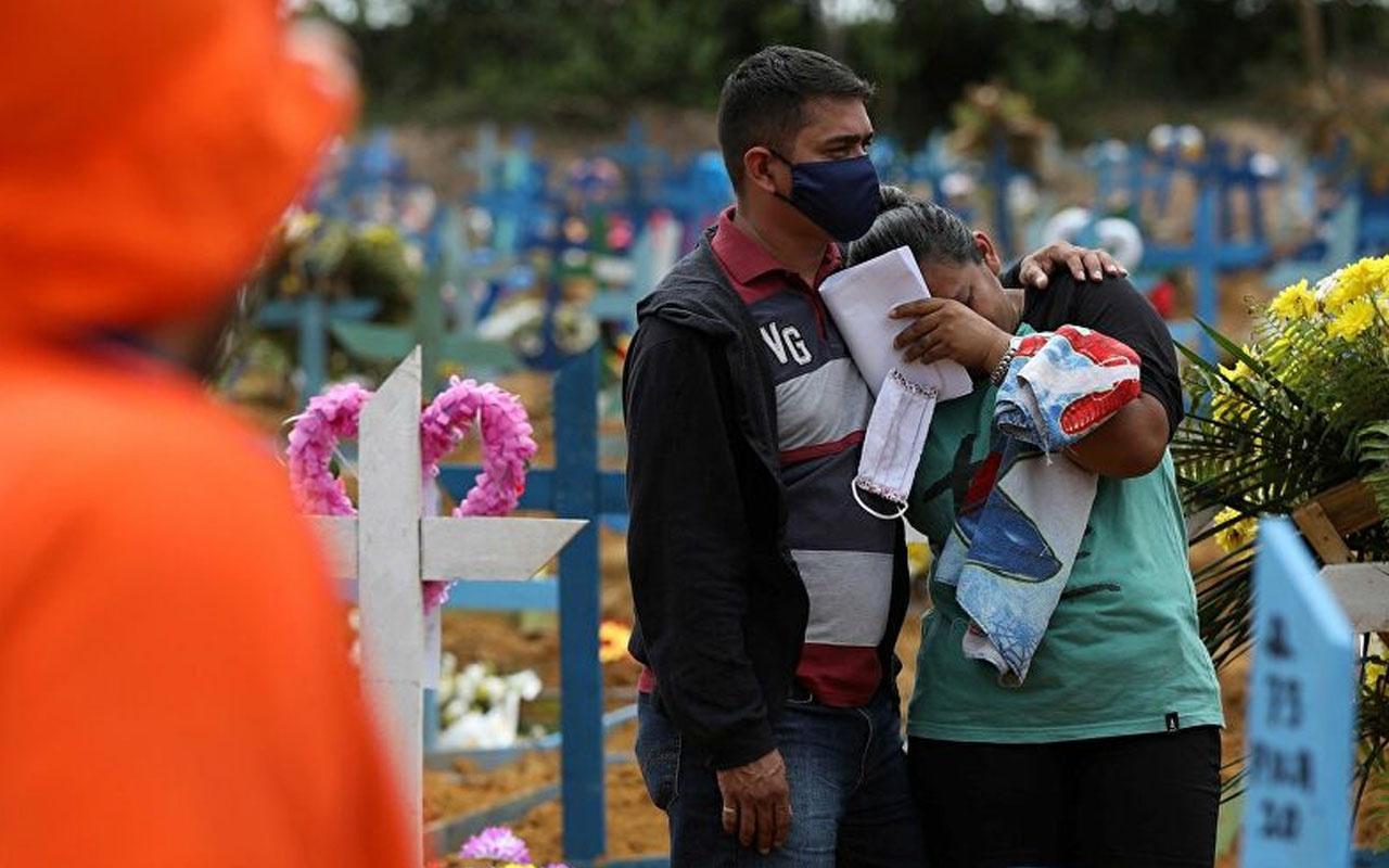 Brezilya'da en yüksek ölüm oranı! Son 24 saatte bin 262 kişi öldü