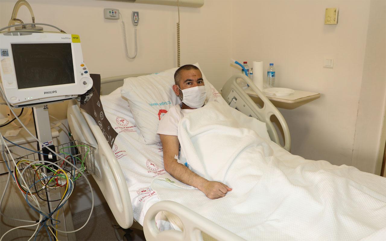 39 gün sonra iyileşen koronavirüs hastasının ilk isteği bu oldu
