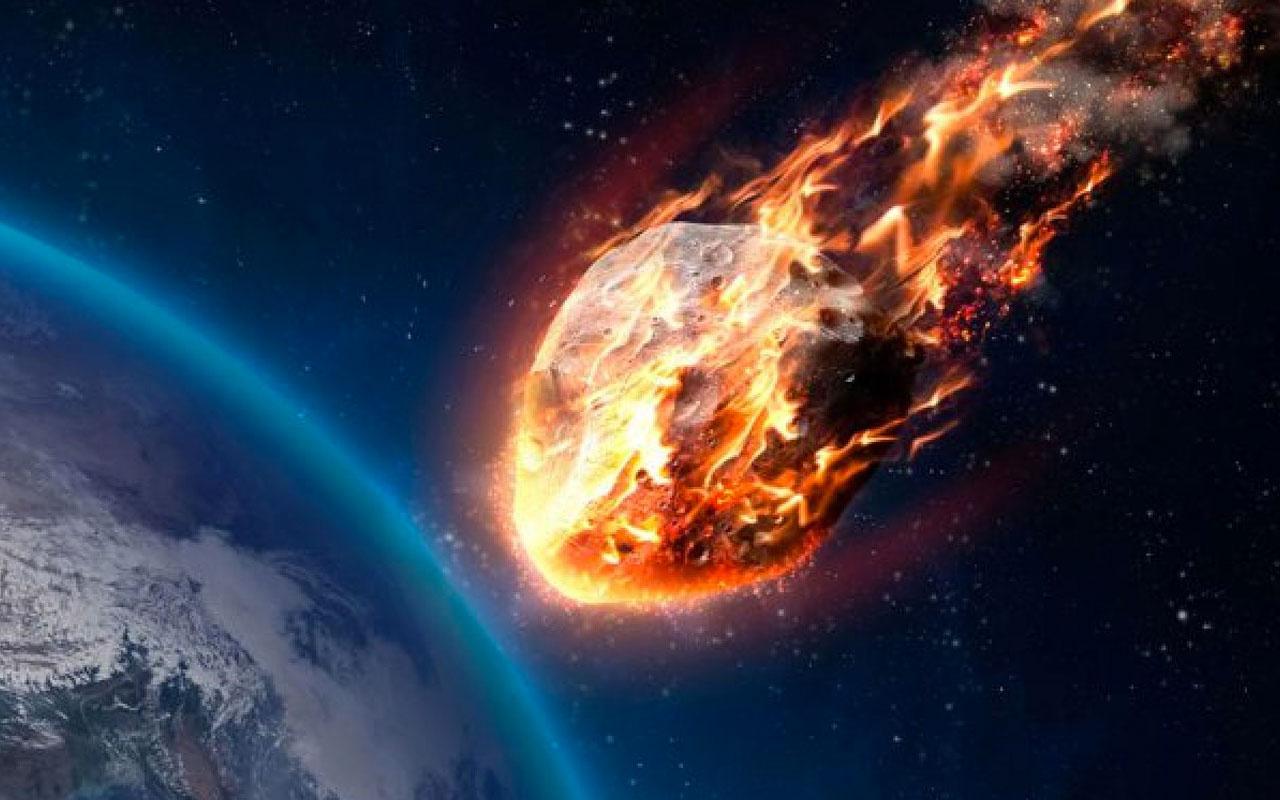 NASA uyardı Tehlikeli bir göktaşı Dünya'ya yaklaşıyor