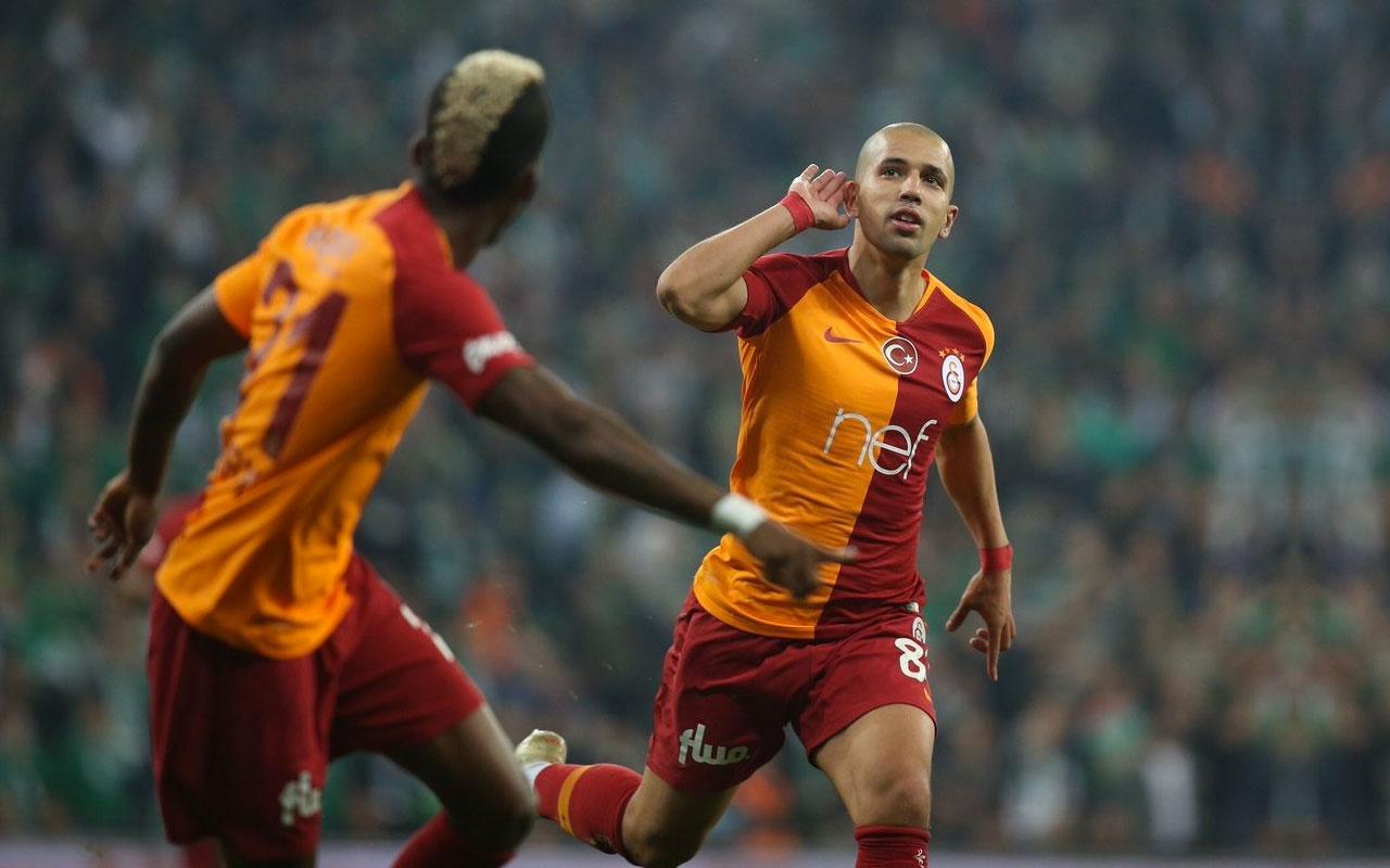 Real Betis, Galatasaraylı Feghouli'yi transfer etmek istiyor