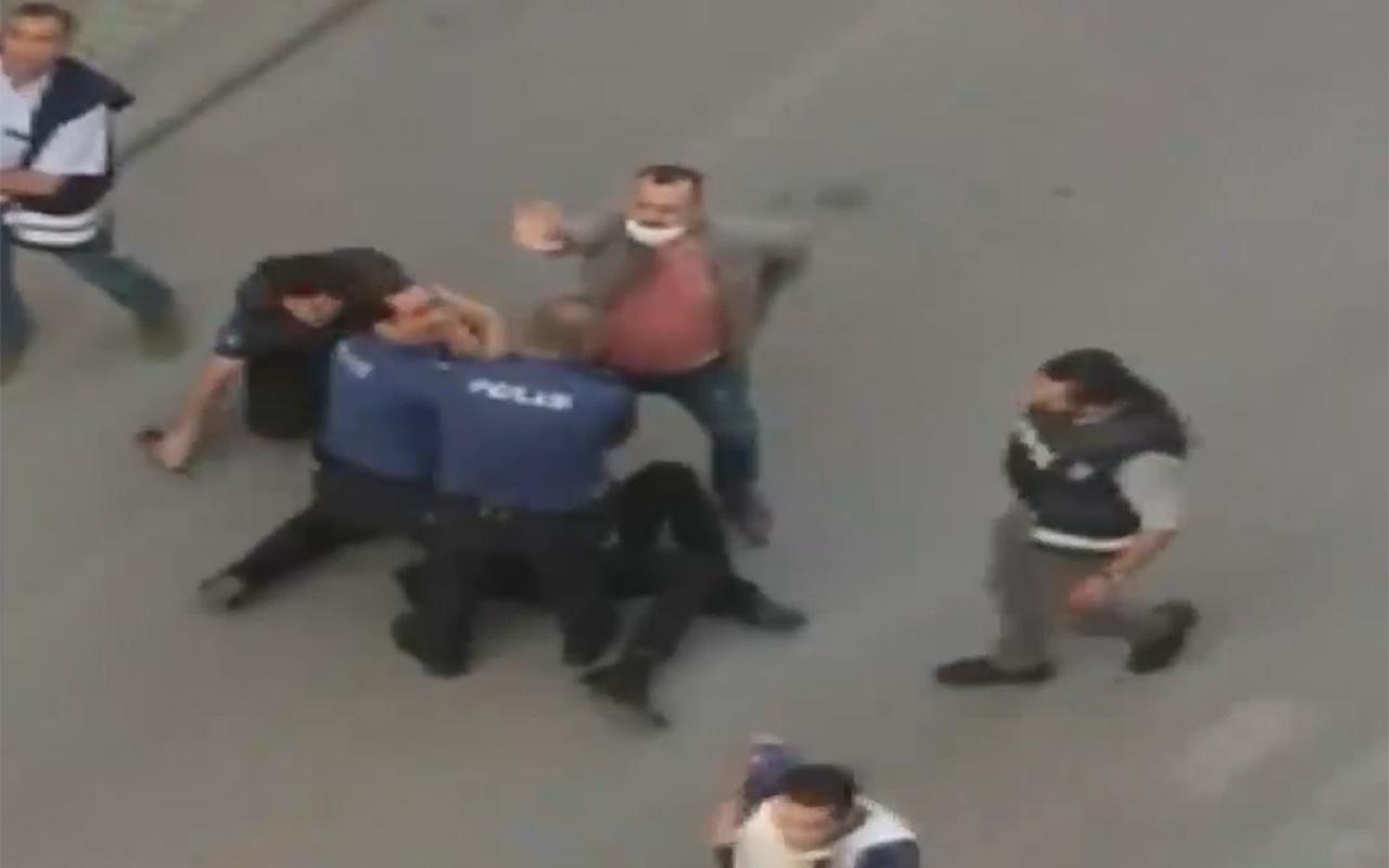 Malatya'da polis eli tüfekli saldırganı etkisiz hale getirdi