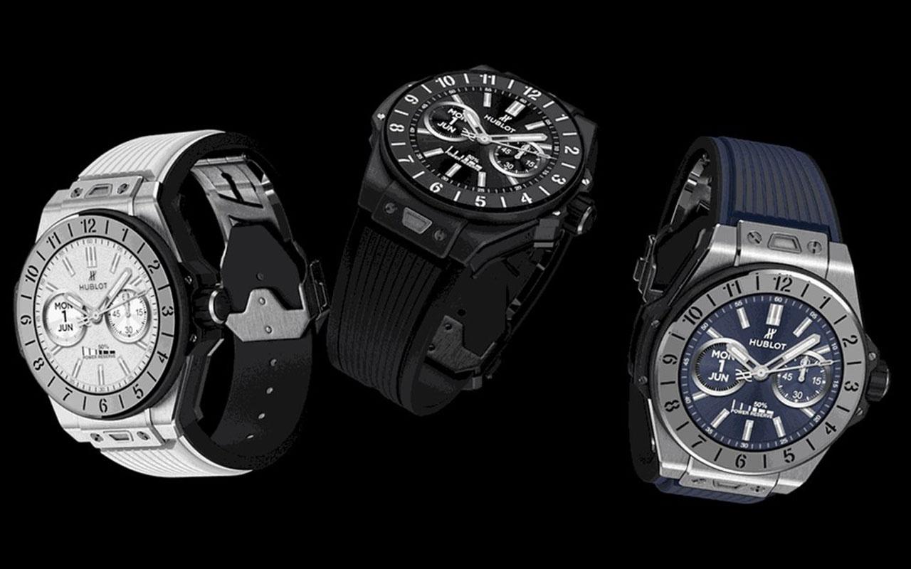 İsviçre markası Hublot 40 bin TL'lik akıllı saatini görücüye çıkardı! Yok artık dedirtti