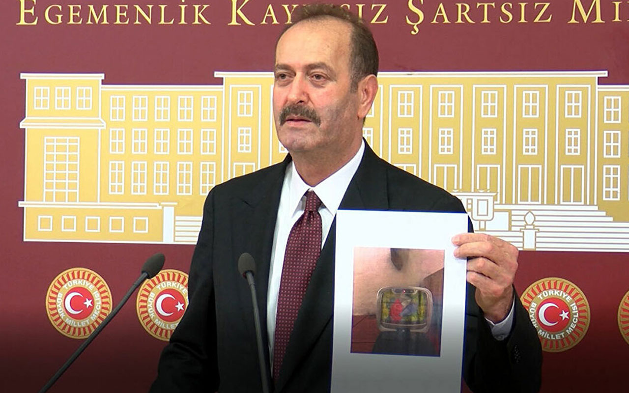 MHP'li Osmanağaoğlu: CHP'liler Atatürk'ün isminin çöpe atılmasına göz yummuşlardır