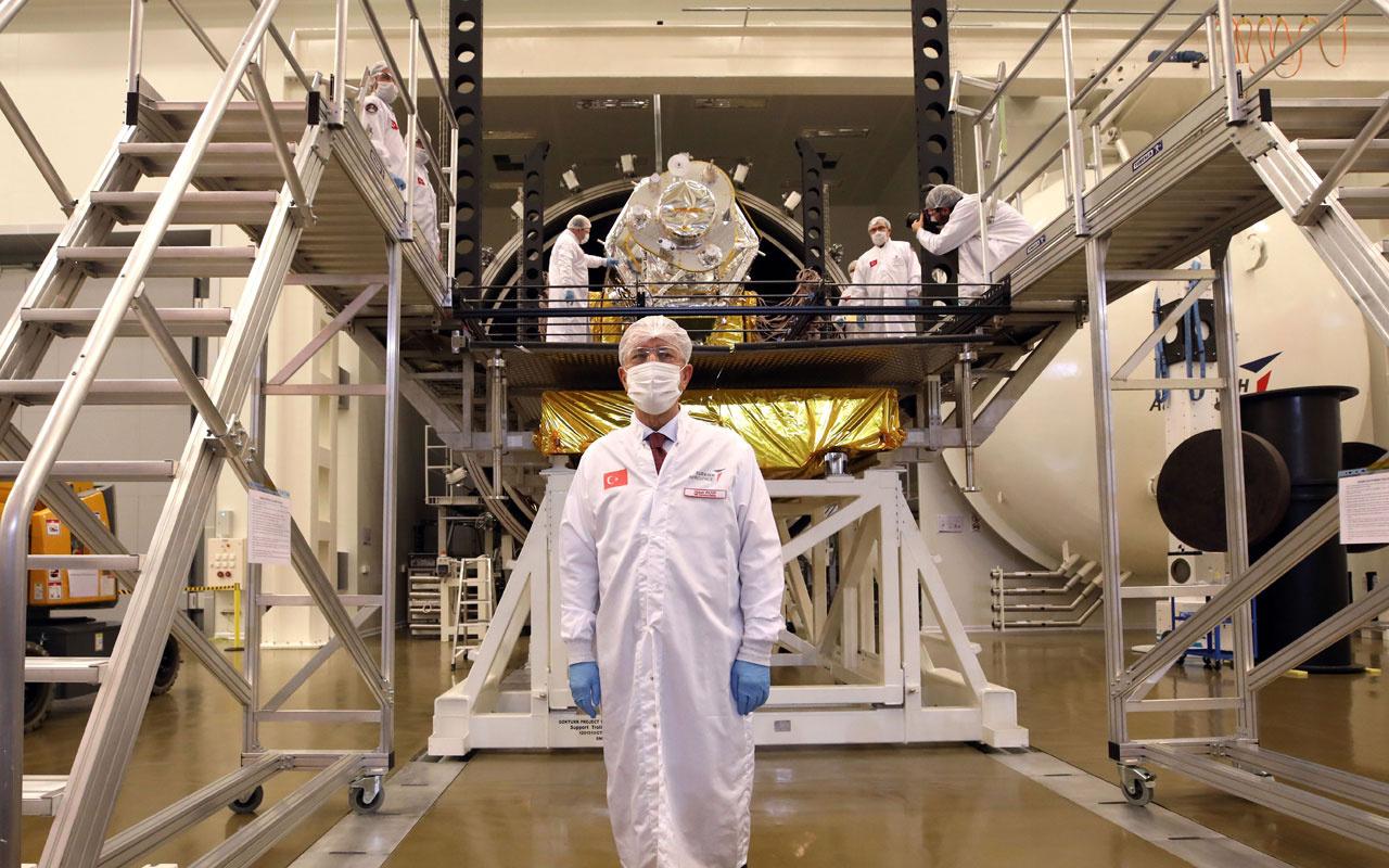 Türkiye'nin ilk yerli ve milli gözlem uydusu İmece'nin son montajı yapıldı
