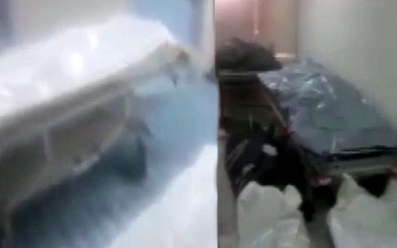 Libya'da Hafter milislerinden kurtarılan bir hastanede 106 ceset bulundu
