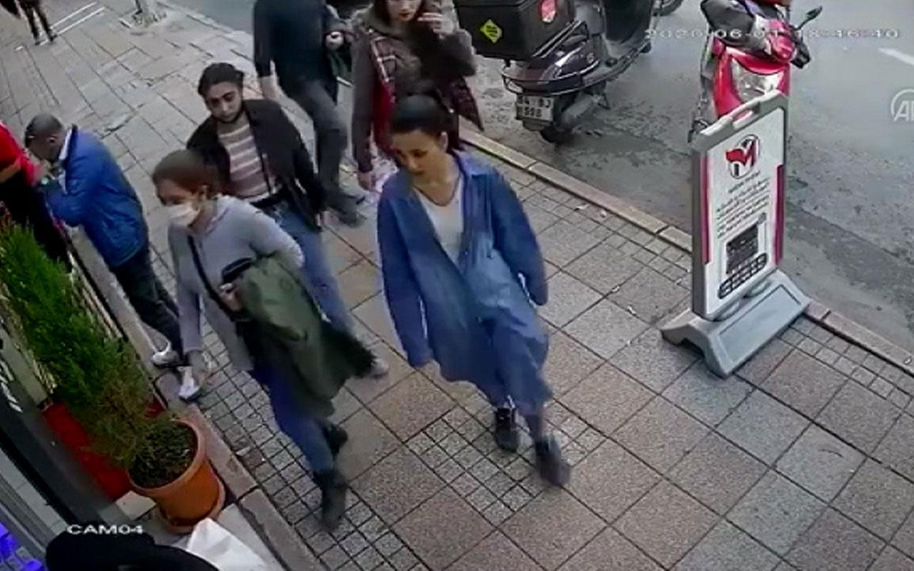Adalet Bakanı'nın eşini İstanbul'da böyle soydular! İnanılmaz görüntüler