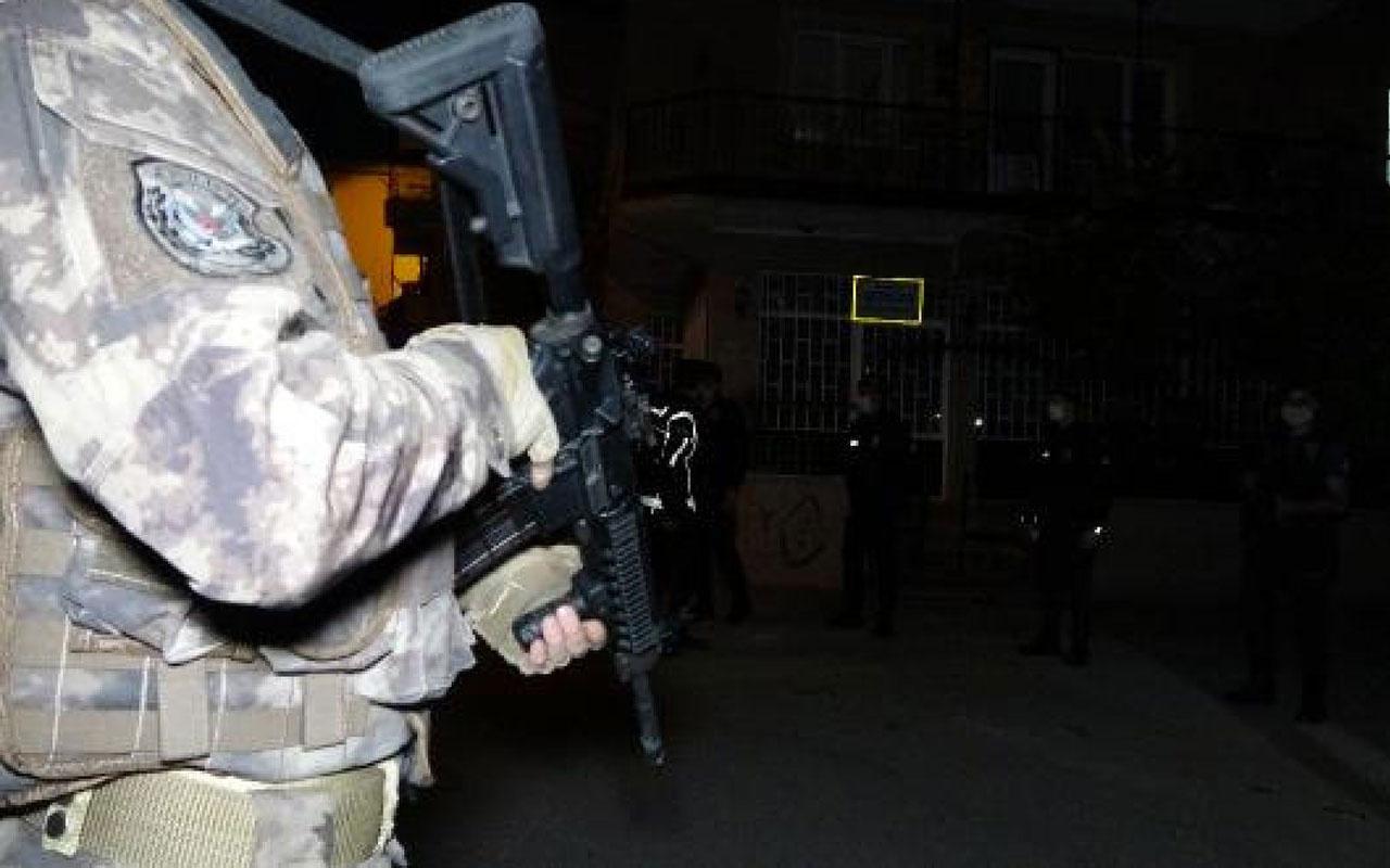 Bursa'da 2 bin 500 polisten asayiş operasyonu