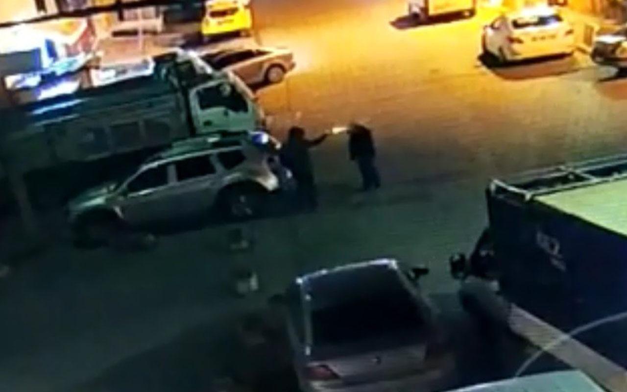 Trabzon'da olay görüntü! Silahla arkadan yaklaşıp muhtarı böyle öldürmüş
