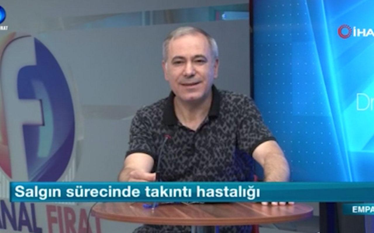 Malatya'da canlı yayında depreme yakalandı