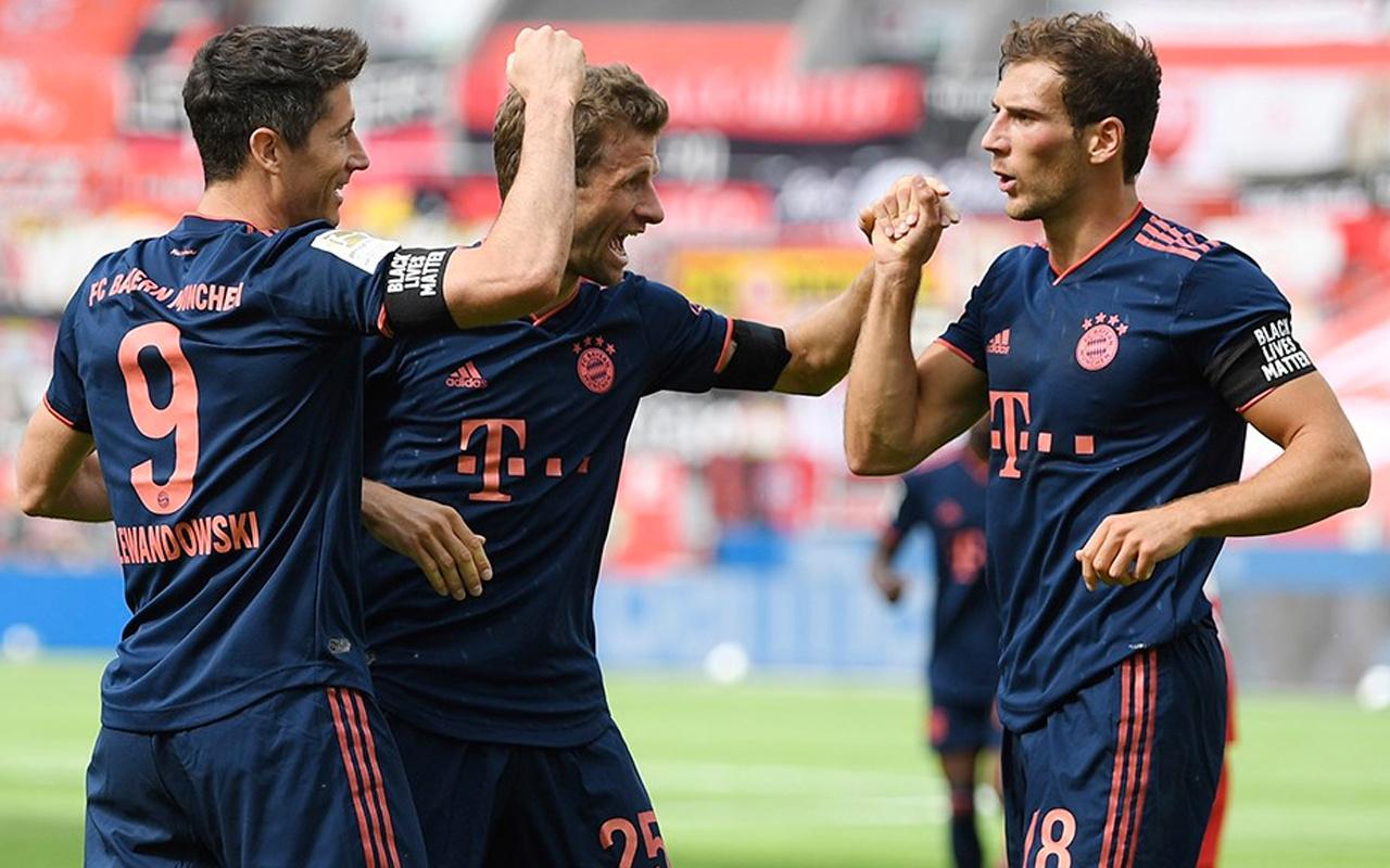 Bayern Münih Leverkusen'i 4'ledi