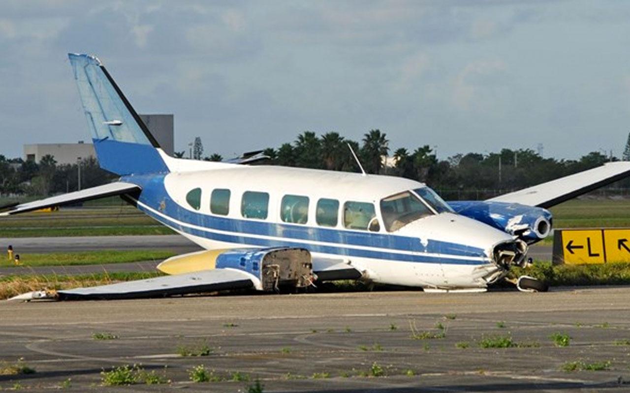 ABD'de uçak kazası! Aynı aileden 5 kişi hayatını kaybetti!