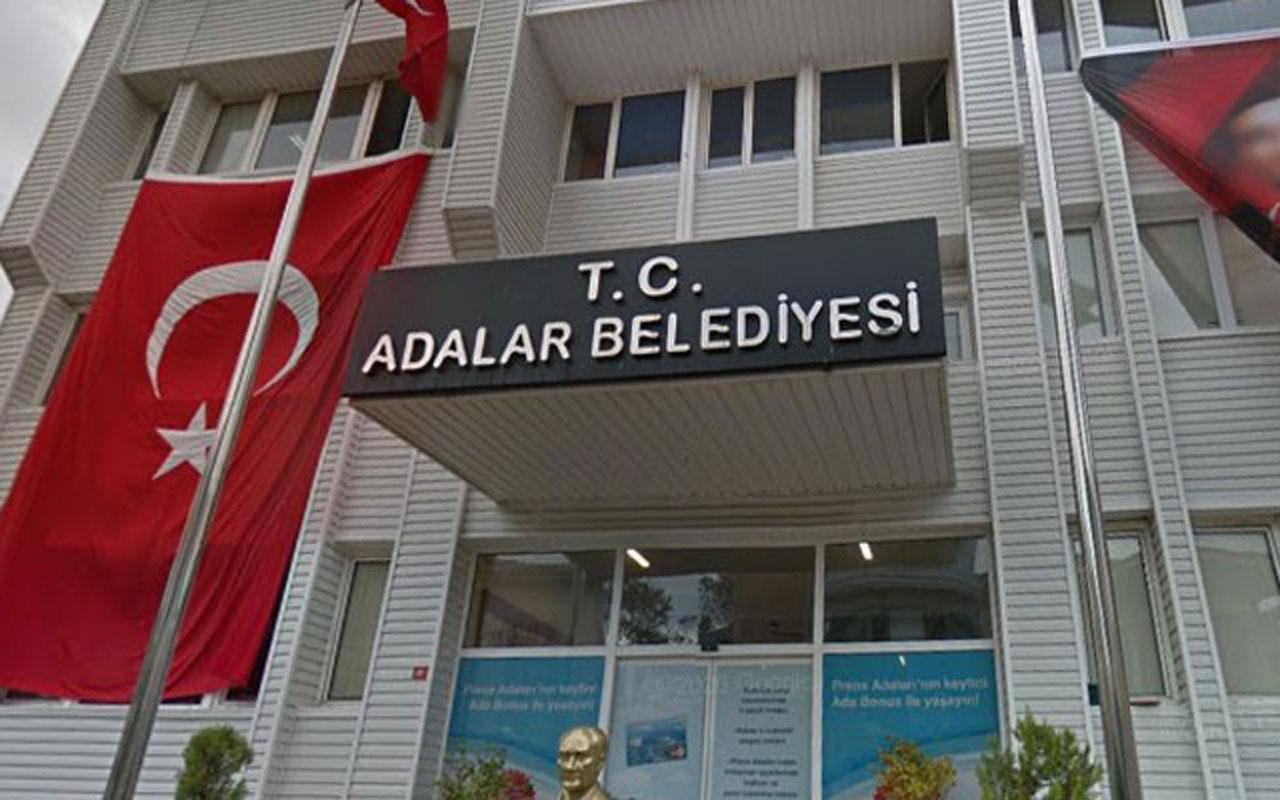 Adalar Belediyesi'ne pompalı saldırı! Belediyenin camları kırıldı