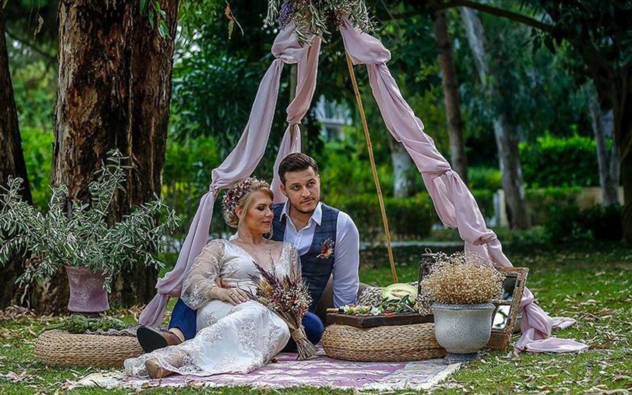 Rus çift 'izole düğün' için Antalya'yı tercih etti