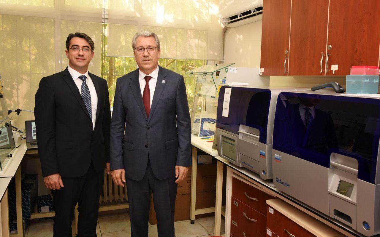 Ege Üniversitesinde Kovid-19'un tahribatını ölçmek üzere yazılım geliştirildi