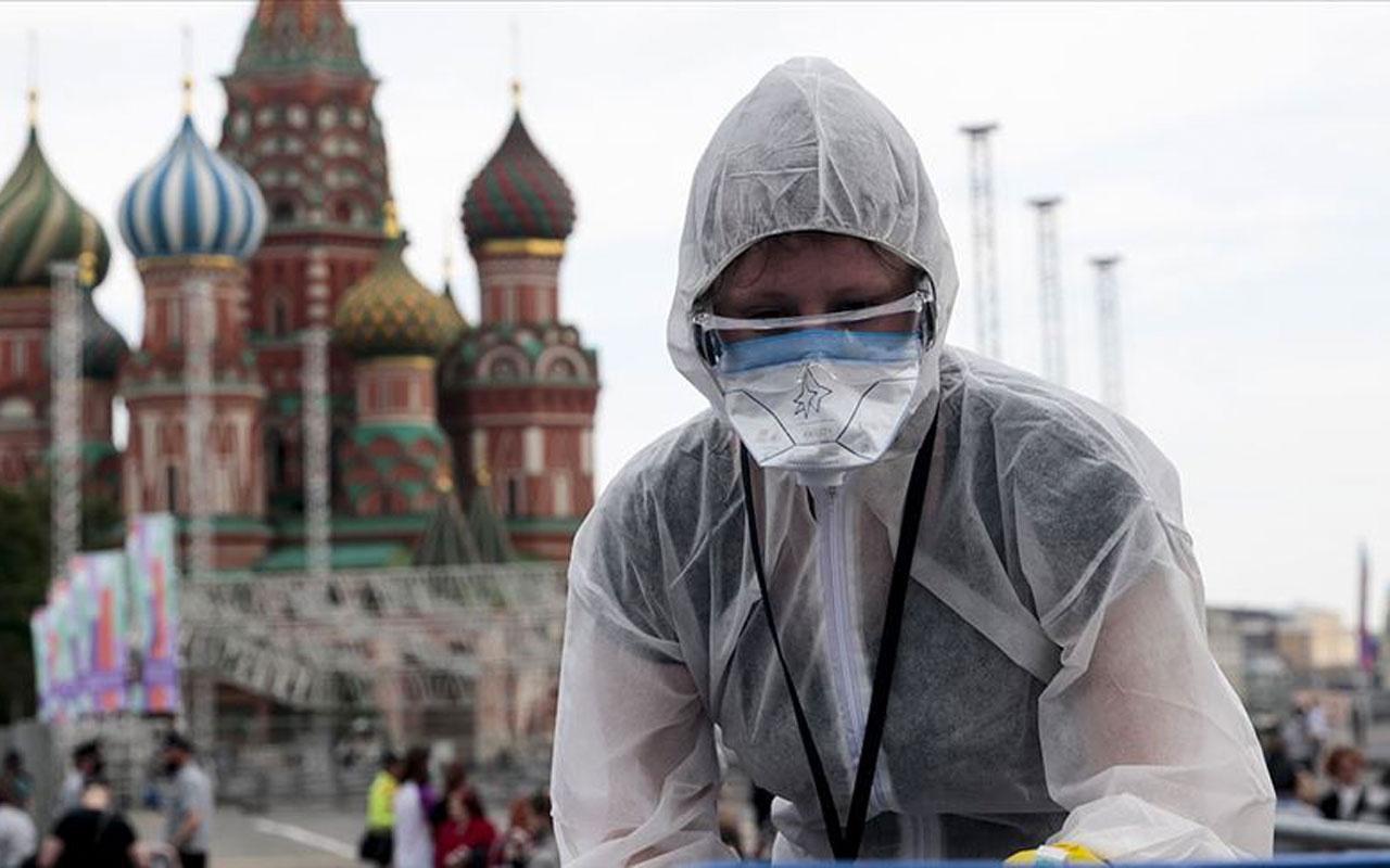 Rusya'da Kovid-19 vaka sayısı 476 bini geçti