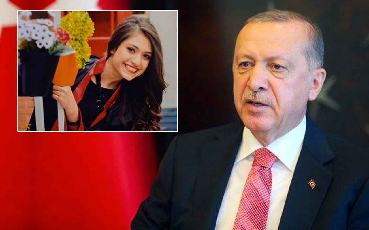 Cumhurbaşkanı Erdoğan'dan şehit öğretmen Aybüke Yalçın paylaşımı