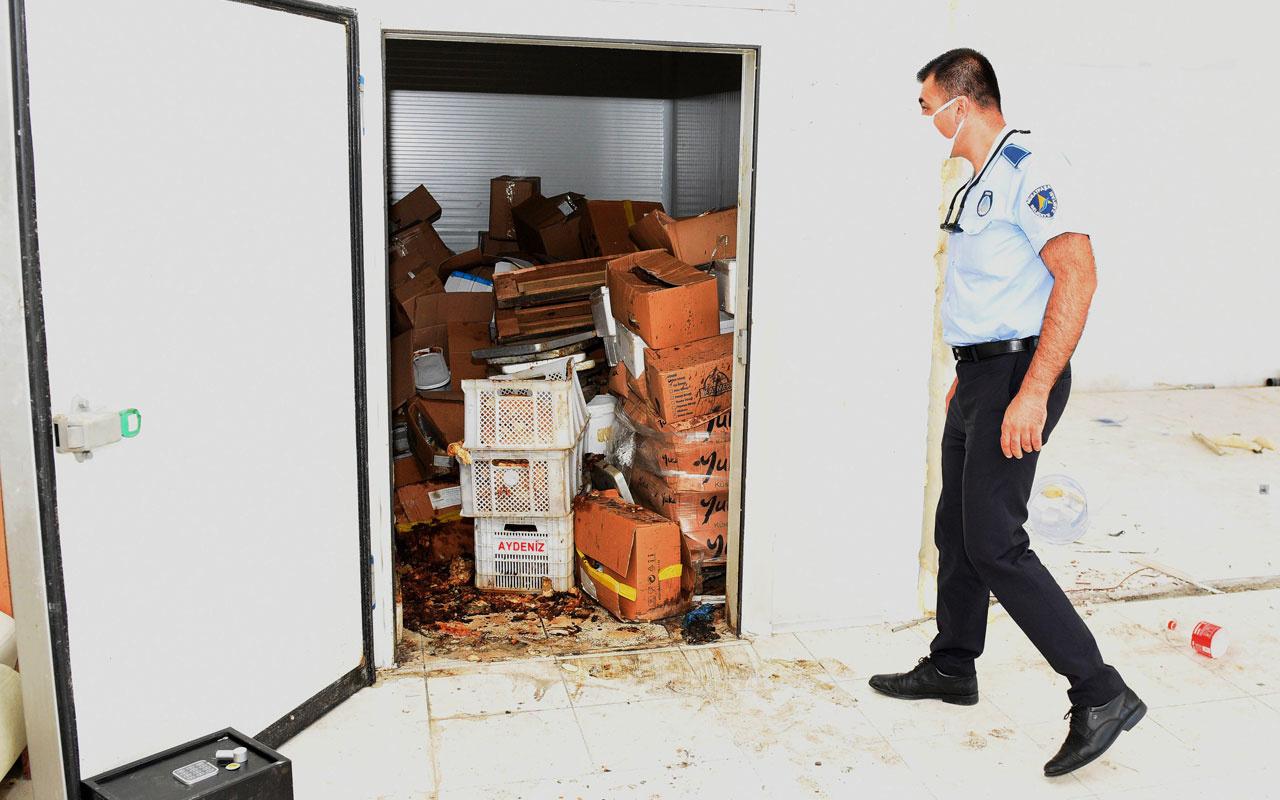 Antalya'da mahalleli ceset kokusu sanıp polisi aradı gerçek başka çıktı