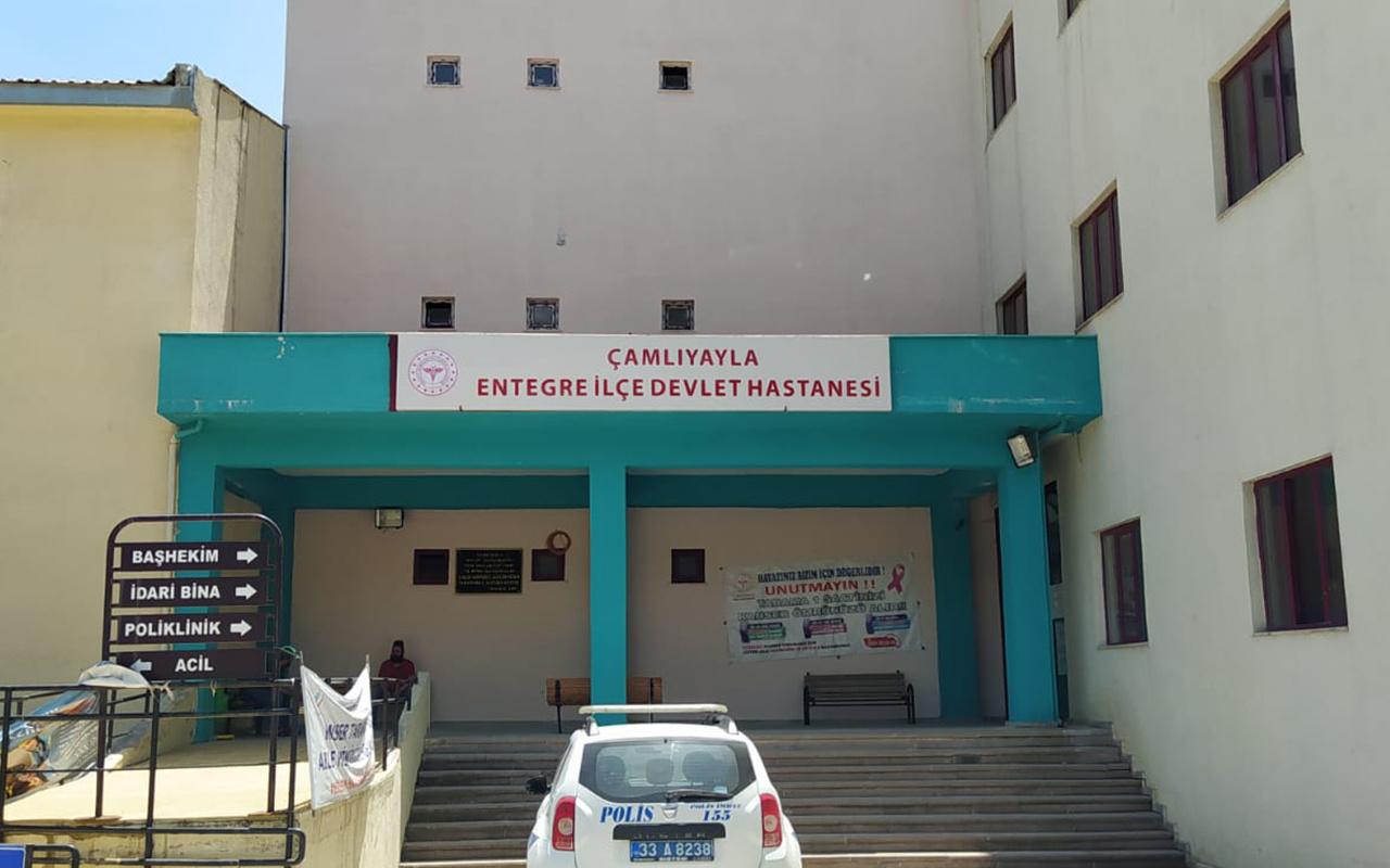 Mersin'de doktora saygısızlık yapan çifte gözaltı