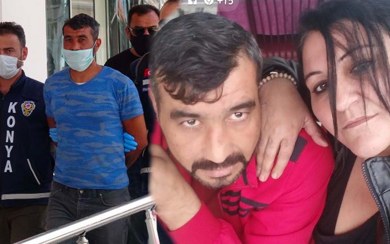 Konya'da dini nikahlı eşini öldürdü! 'Resmen başkasıyla evliymiş' dedi...