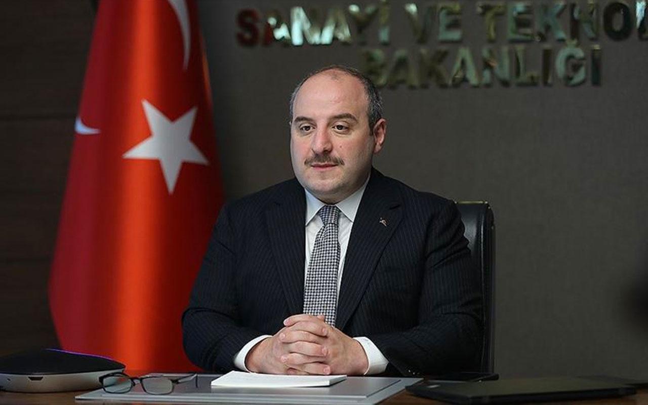 Sanayi ve Teknoloji Bakanı Mustafa Varank'tan elektrikli gemi açıklaması