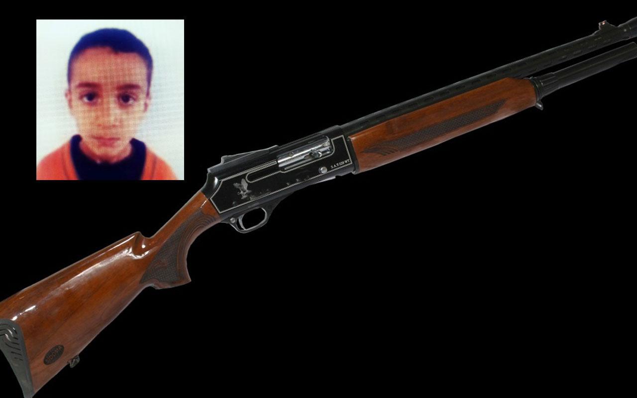 Antalya'da 13 yaşındaki çocuk tüfekle oynarken arkadaşını öldürdü