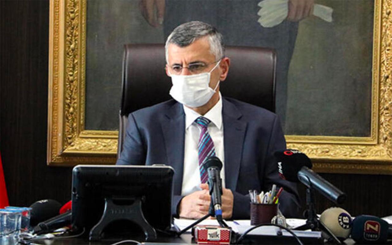 'Sağlıkçılar bize yük oldu' diyen Zonguldak Valisi Bektaş merkeze alındı!
