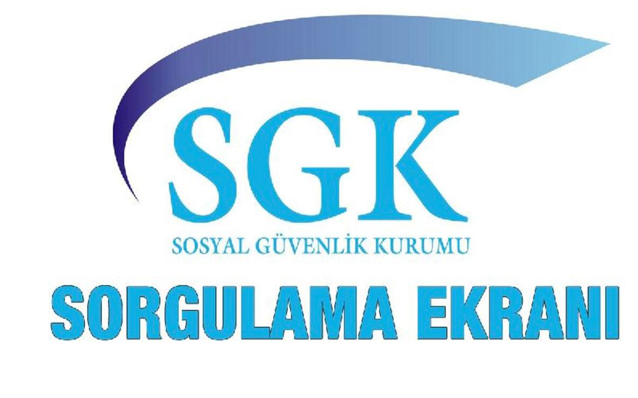 SGK prim borcu sorgulama işlemi nasıl yapılır? İşte SGK prim borcu öğrenme ekranı