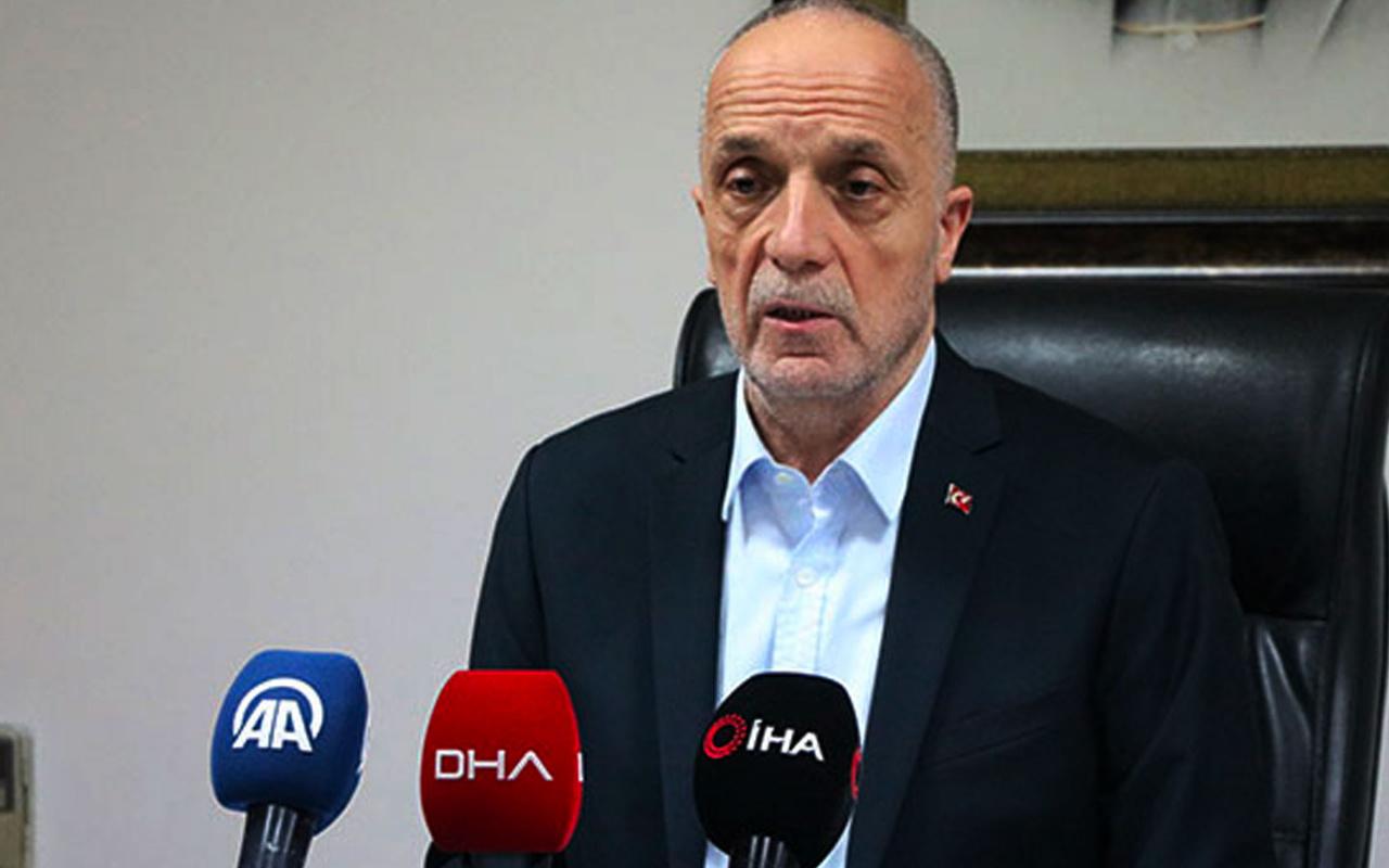 Türk-İş Başkanı Ergün Atalay kıdem tazminatı açıklaması! Ölürüm de vermem