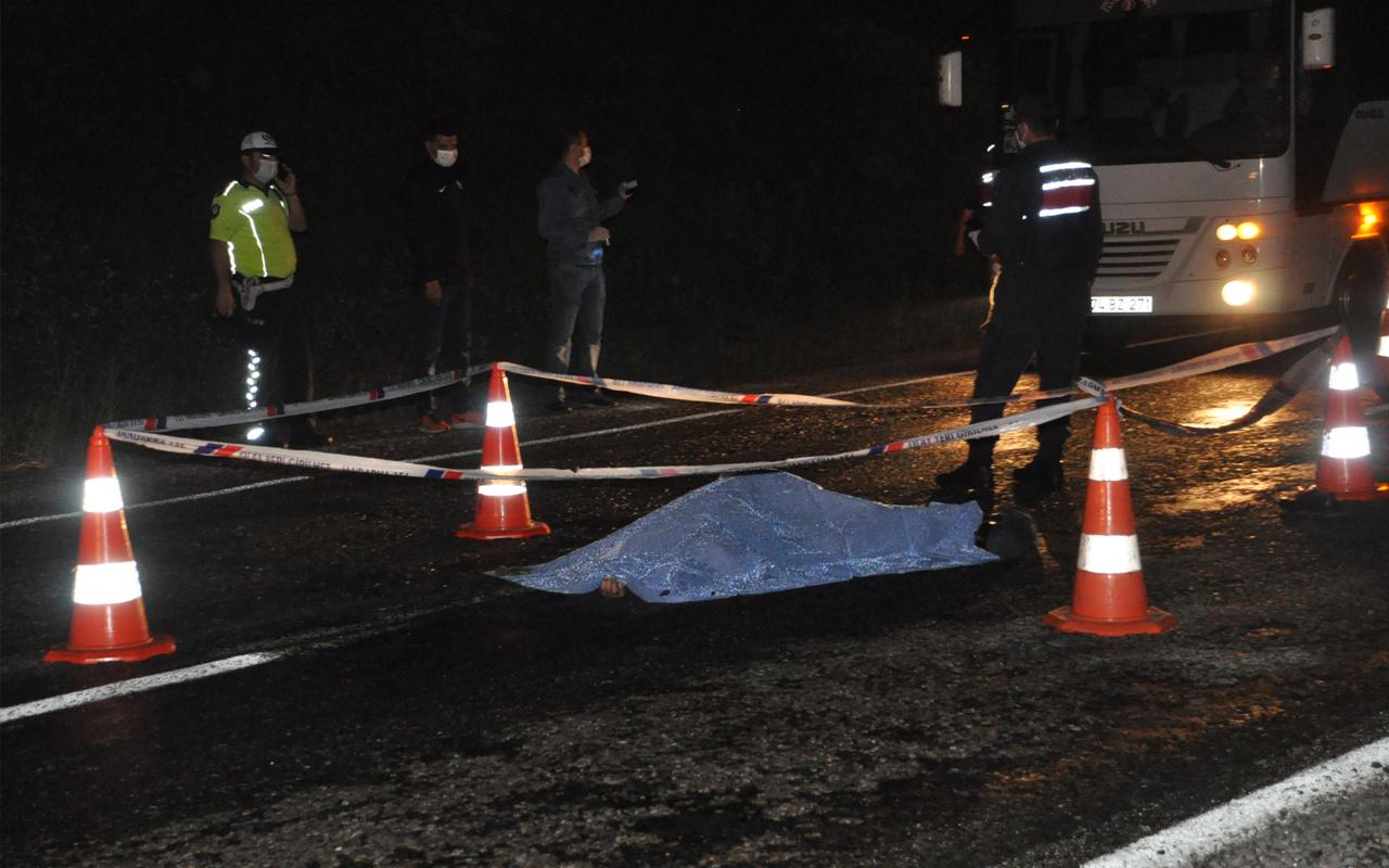Bartın'da otomobilin çarptığı genç ölüme yürüdü