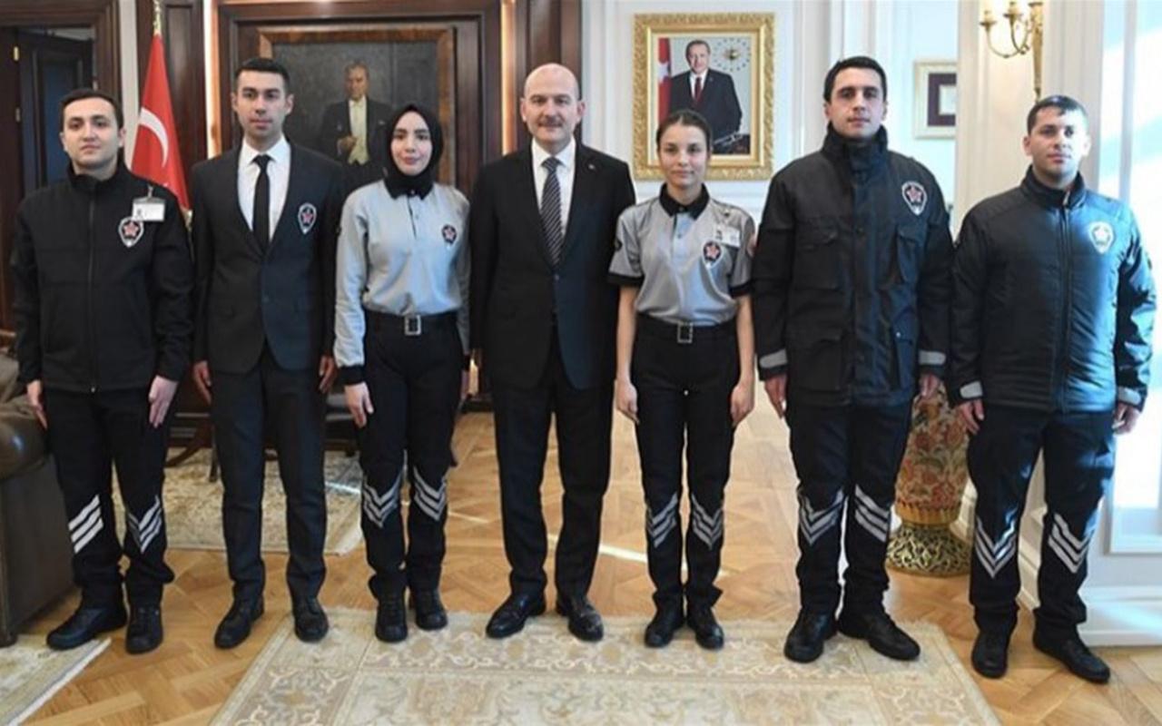 Kamudaki özel güvenlikler tek tip üniformaya geçti Süleyman Soylu paylaştı