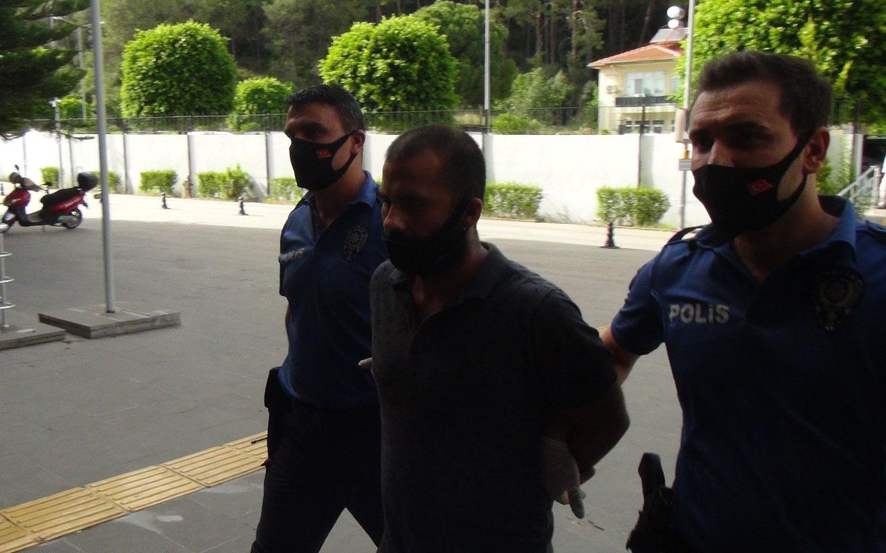 Antalya'da 'Basın mensubuyum' yalanını atan şahıs suç makinesi çıktı
