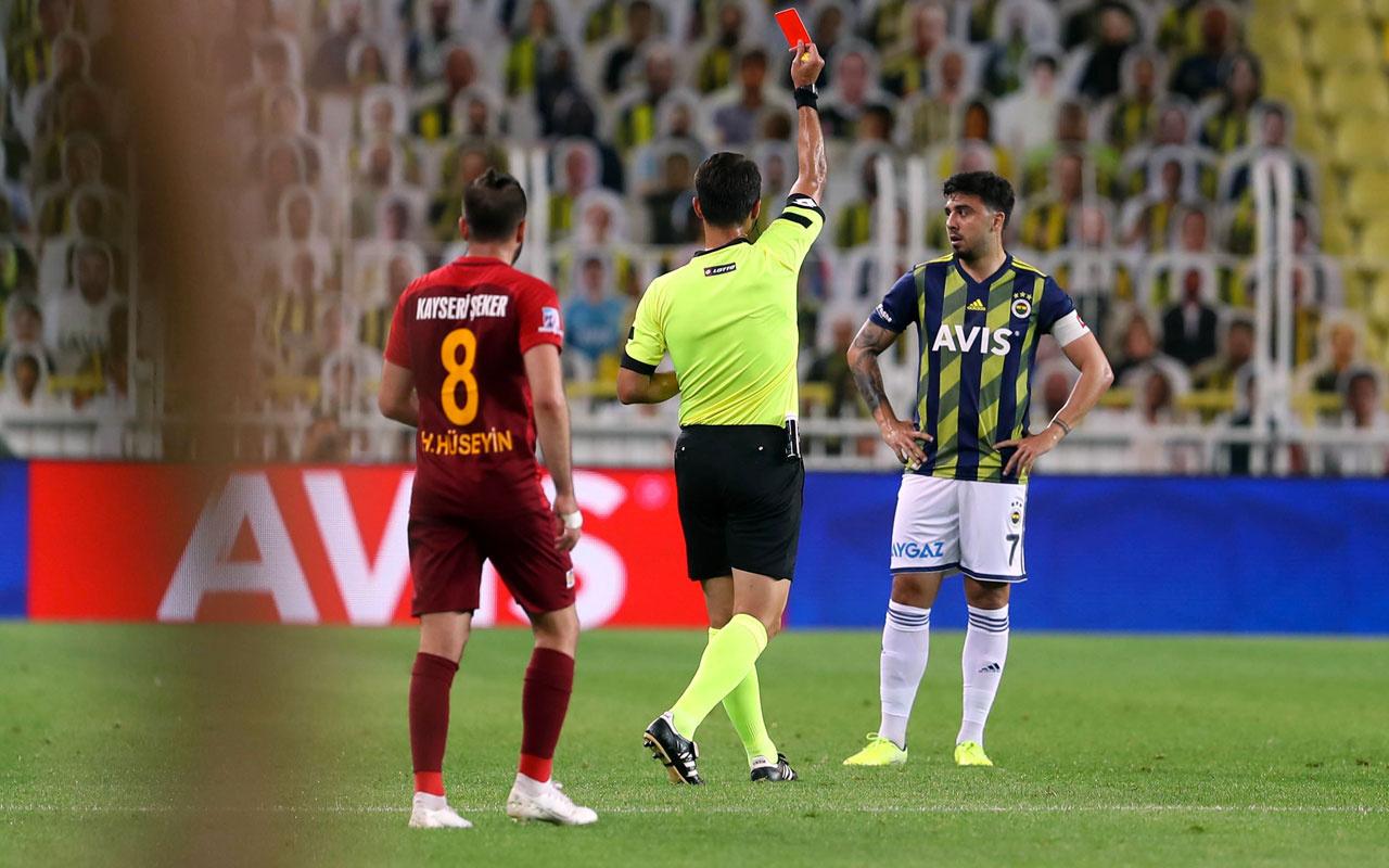 Ozan Tufan Trabzonspor maçında yok