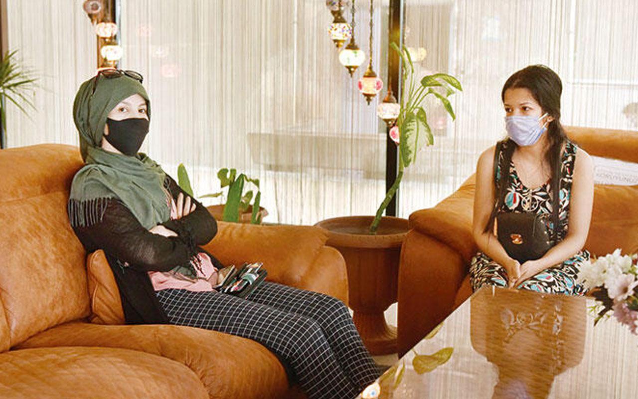 İstanbul'daki Cezayirliler otelden atıldı faturaları ortada kaldı