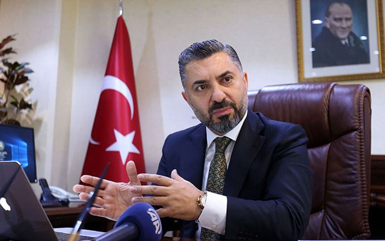 RTÜK Başkanı Ebubekir Şahin Halkbank Yönetim Kurulu üyeliğine seçildi