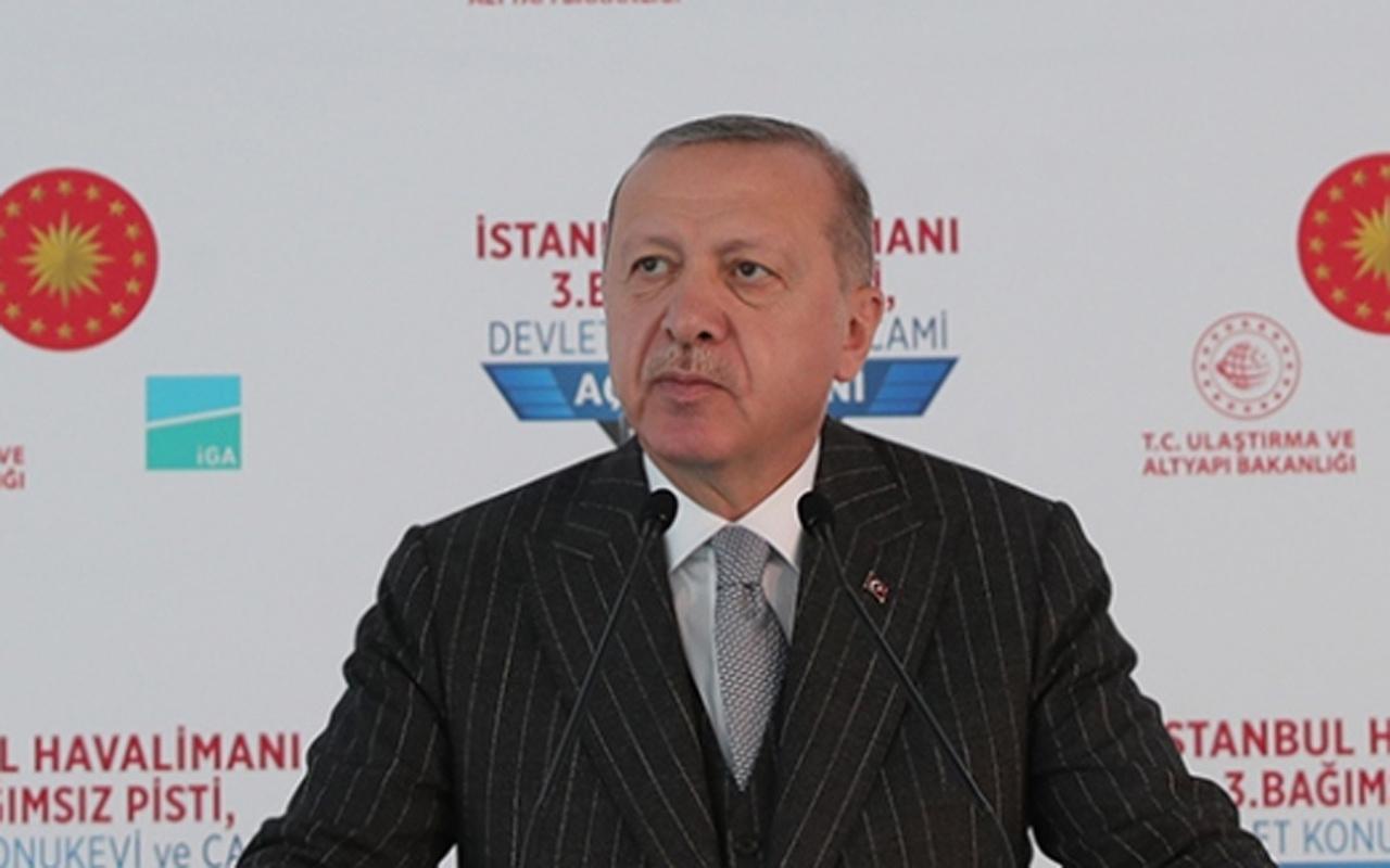 Cumhurbaşkanı Erdoğan'dan salgın uyarısı