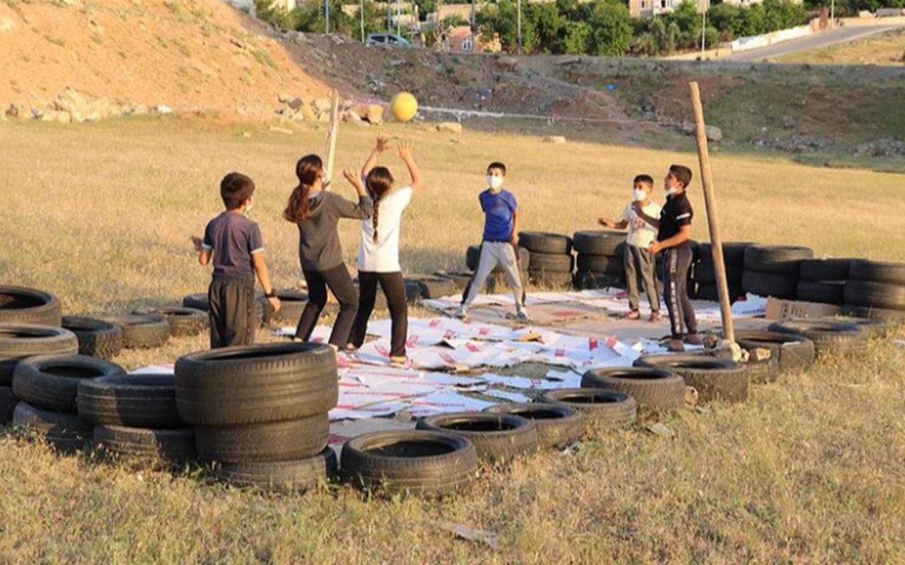 Bakan Muharrem Kasapoğlu'ndan Siirtli çocuklara tesis müjdesi