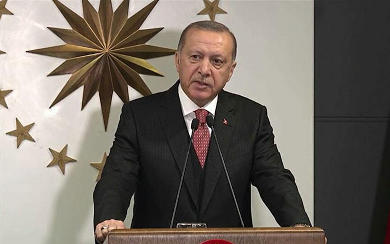 Cumhurbaşkanı Erdoğan 12. IIEFC'ye telekonferansla katıldı