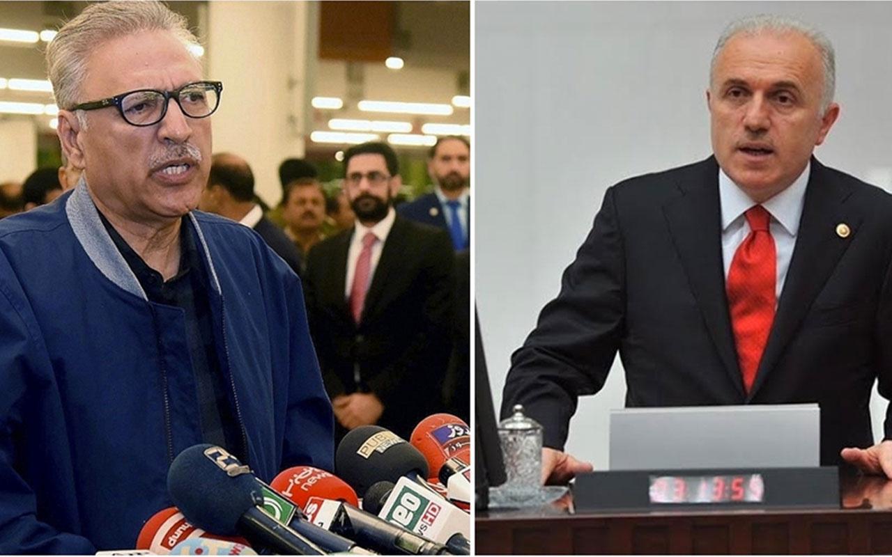 Aziz Babuşcu'nun Keşmir projesine Cumhurbaşkanı Arif Alvi'den destek