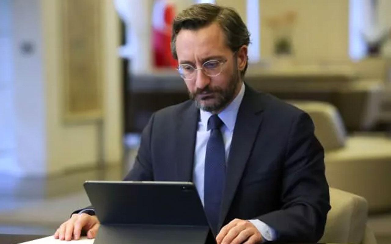 İletişim Başkanı Fahrettin Altun'dan 'Pençe-Kartal Operasyonu' açıklaması