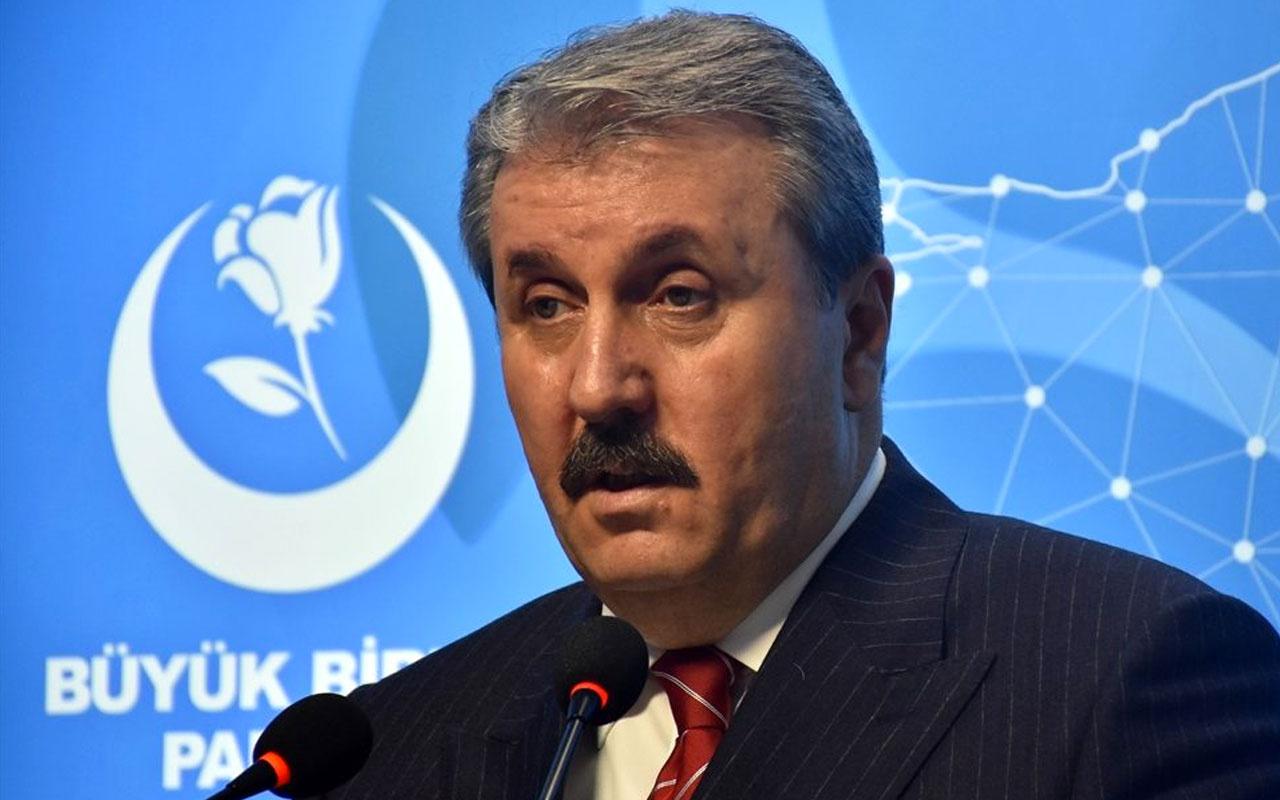 Mustafa Destici'den Kıbrıs ziyaretine katılmayan Millet İttifakı'na tepki