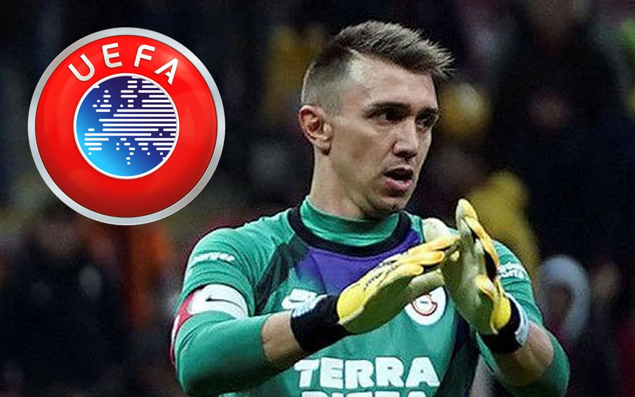 UEFA'dan Fernando Muslera'ya destek geldi